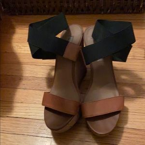 Steve Madden Roper Cork Wedge